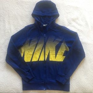 Nike Men's Zippered Sweatshirt Jacket Small NWOT